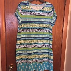 Lands End swimsuit cover up dress